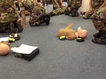 米軍MPのFirst Aidトレーニング