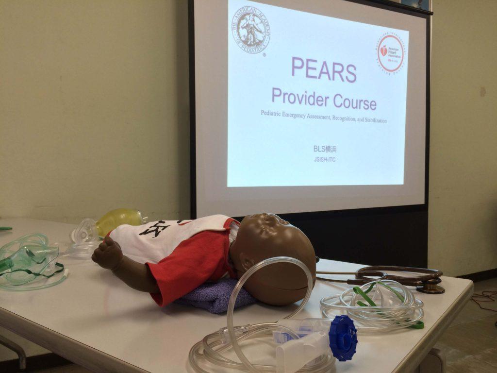 看護学生の実習前のトレーニングにも最適なPEARSプロバイダーコース