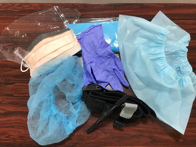 ターニケットを使うために必要な個人用感染防護具PPE